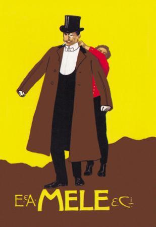 Your Coat, Sir by Leopoldo Metlicovitz
