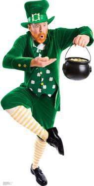 Leprechaun Pot of Gold Lifesize Standup