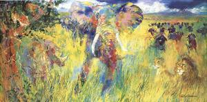 Big Five by LeRoy Neiman