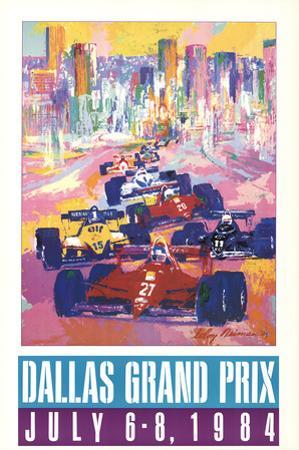 Dallas Grand Prix by LeRoy Neiman