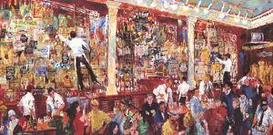 F.X. McRory's Whiskey Bar-Seattle by LeRoy Neiman