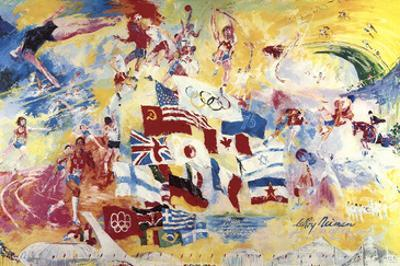 Games of the XXI Olympiad by LeRoy Neiman
