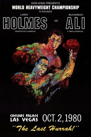 Holmes vs. Ali by LeRoy Neiman