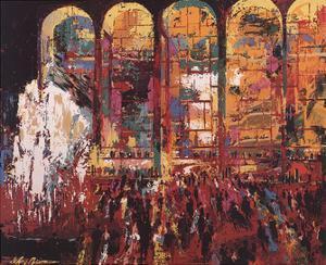 Metropolitan Opera by LeRoy Neiman