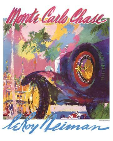 Monte Carlo Chase by LeRoy Neiman