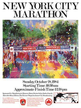 New York City Marathon by LeRoy Neiman