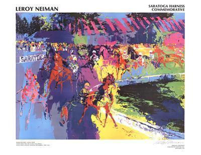 Saratoga Harness by LeRoy Neiman