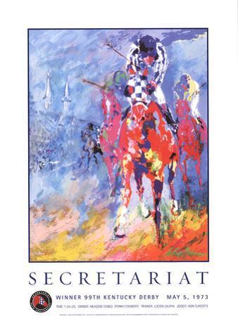 Secretariat by LeRoy Neiman
