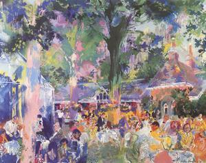 Tavern on the Green by LeRoy Neiman