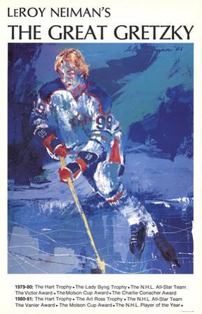 The Great Gretzky by LeRoy Neiman
