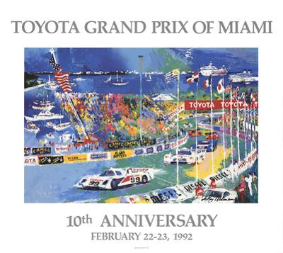Toyota Grand Prix of Miami by LeRoy Neiman