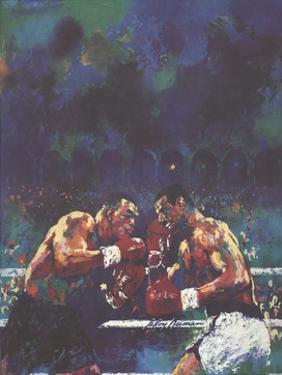 Tyson vs. Spinks by LeRoy Neiman