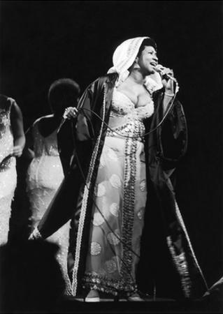 Aretha Franklin - 1972 by Leroy Patton