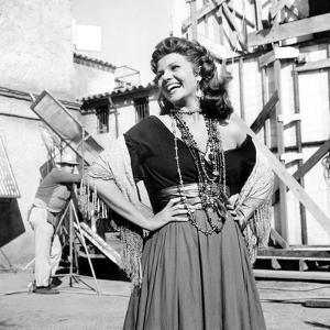Les Amours by Carmen THE LOVES OF CARMEN by CharlesVidor with Rita Hayworth, 1948 (b/w photo)