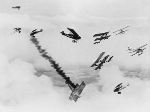 Les anges by l'enfer, HELL'S ANGELS, by HowardHughes, 1930 (b/w photo)