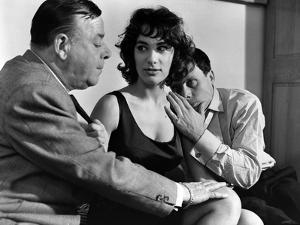 LES BONNES FEMMES (The Good Times Girls) by Claude Chabrol with Albert Dinan, Bernadette Lafont and