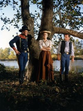Les Cavaliers THE HORSE SOLDIERS by John Ford with John Wayne, Constance Towers and William Holden,