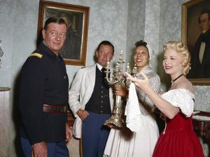 Les Cavaliers THE HORSE SOLDIERS by John Ford with John Wayne, William Holden, Althea Gibson and Co