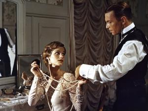 Les Damnes by Luchino Visconti with Charlotte Rampling and Umberto Orsini, 1969 (photo)