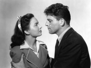 Les demons by la Liberte Brute Force by JulesDassin with Ann Blyth and Burt Lancaster, 1947 (b/w ph