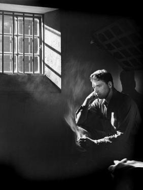 Les demons by la Liberte Brute Force by JulesDassin with Burt Lancaster, 1947 (b/w photo)