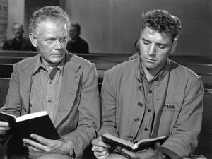 Les demons by la Liberte Brute Force by JulesDassin with Charles Bickford and Burt Lancaster, 1947