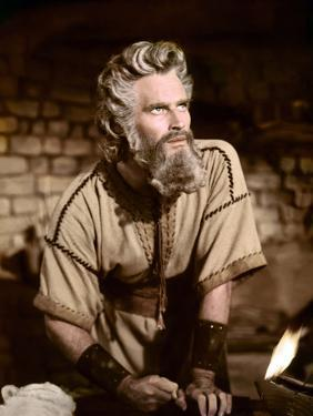 Les dix commandements (The ten Commandements) by CecilDeMille with Charlton Heston (Moise, Moses),