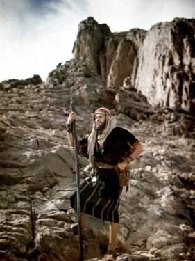 Les Dix Commandements THE TEN COMMANDMENTS by CecilBDeMille with Charlton Heston, 1956 (photo)