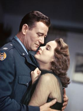 Les espions s'amusent by Josef von Sternberg with John Wayne and Janet Leigh en, 1957