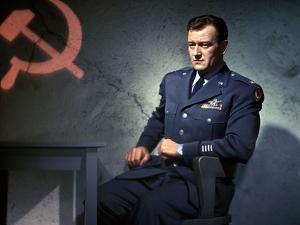 Les espions s'amusent by Josef von Sternberg with John Wayne en, 1957 --- Jet pilot by Josef von St