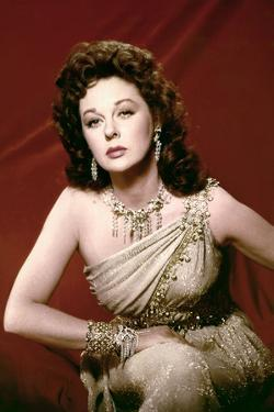 Les Gladiateurs (Demetrius and the Gladiators) by DelmerDaves with Susan Hayward, 1954 (photo)