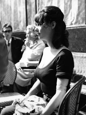 Les Godelureaux by ClaudeChabrol with Bernadette Lafont, 1961 (b/w photo)