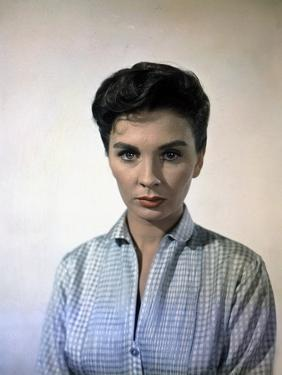 Les Grands Espaces THE BIG COUNTRY by William Wyler with Jean Simmons, 1958 (photo)