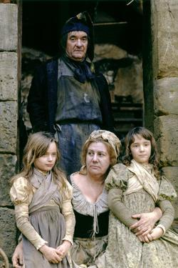 Les Miserables by RobertHossein with Jean Carmet and Francoise Seigner (Thenardier), 1982 (d'apres