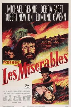 Les Miserables, Michael Rennie, (Beard), 1952