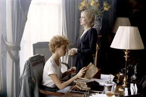 Les predateurs HUNGER by Tony Scott with Susan Sarandon and Catherine Deneuve, 1983 (photo)