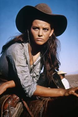 Les Professionnels THE PROFESSIONALS by Richard Brooks with Claudia Cardinale, 1966 (photo)