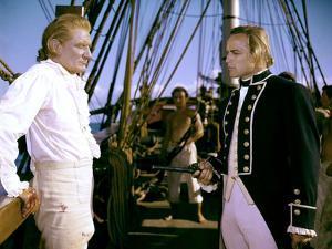 Les revoltes du Bounty Mutiny on the Bounty by LewisMilestone with Marlon Brando and Trevor Howard,