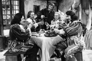 LES TROIS MOUSQUETAIRES, 1953 directed by ANDRE HUNEBELLE jean Martinelli, Georges Marchal, Bourvil