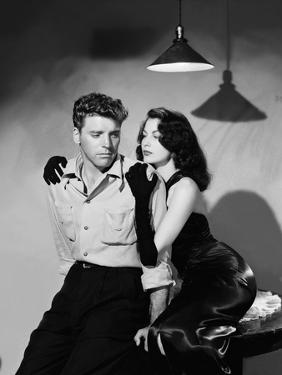Les tueurs The killers A Man Alone by Robert Siodmak with Burt Lancaster, Ava Gardner, 1946 (d'apre