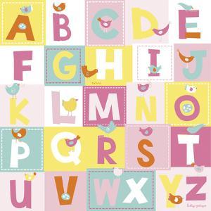 Birdie Alphabet by Lesley Grainger
