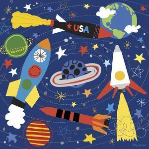 Space Explorer II by Lesley Grainger