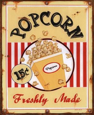 Popcorn Freshly Made by Lesley Hallas