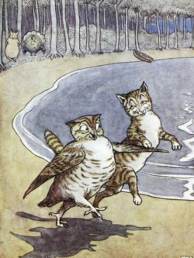 Owl and the Pussycat by Leslie Brooke
