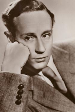 Leslie Howard, English Actor and Film Star