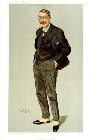 Charles Villiers STANFORD in Vanity Fair by Spy