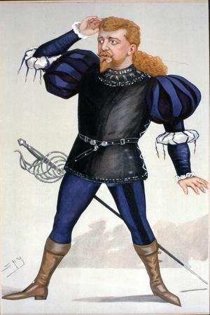 Jean de RESZKE in Vanity Fair cartoon by Spy 1891