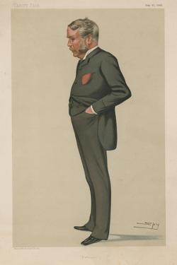 Mr William Schwenck Gilbert by Leslie Matthew Ward