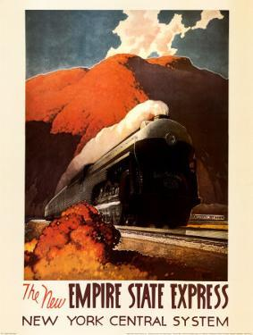 Empire State Express by Leslie Ragan