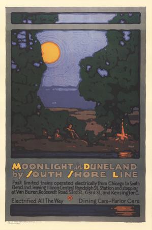 Moonlight in Duneland by Leslie Ragan